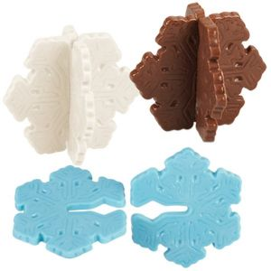Snowflake 3-D Candy Mold